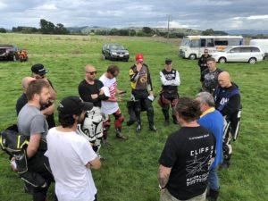 Rider's briefing